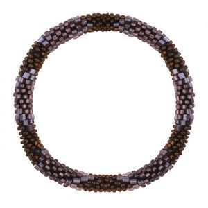 Little Beads Bracelet - Brown/Purple