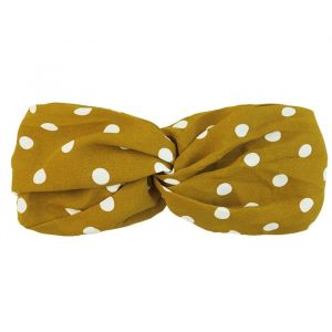 Polkadot Headband – Yellow