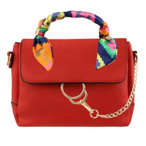 Classy Scarf Bag - Red