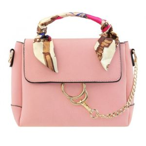 Classy Scarf Bag - Old Pink