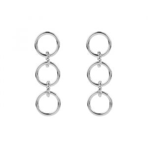 Three Rings Earring - Gold/Silver