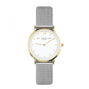 My Jewellery Small Bicolor Watch - Silver/Gold/White