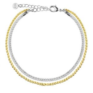Double Chain Bracelet - Gold/Silver