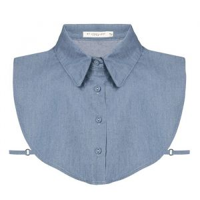 Denim Collar - Light Blue