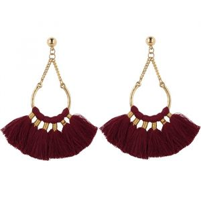 My Jewellery Statement oorbellen met kwastjes