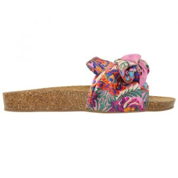Oriental Knot Flip Flops - Pink