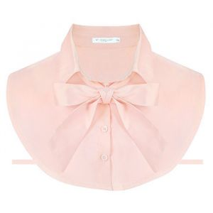 Pussy Bow Collar - Pink