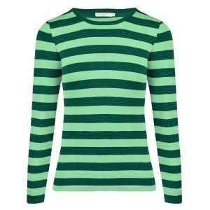 Striped Longsleeve - Turquoise/Green