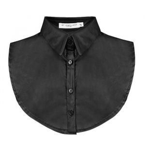 Faux Leather Collar - Black