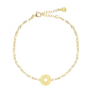 Star Coin Bracelet Galaxy-Goud