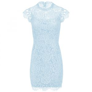 Open Back Lace Dress 2.0 - Light Blue