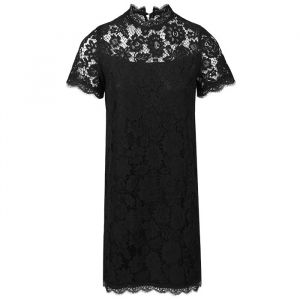 Black Lace Dress-S
