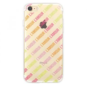 L'amour iPhone Case - Transparant