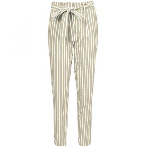Striped Pantalon - Creme