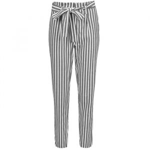Striped Pantalon - Dark Grey