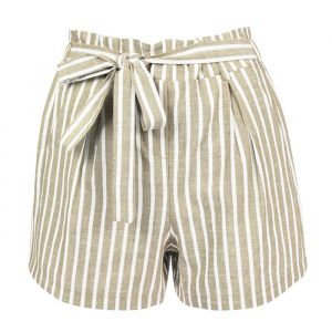 Striped Short - Creme