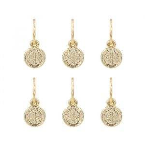 Hair Jewellery - Coin - 6 Piece set