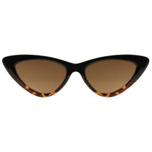 Cat Eye Sunglasses - Brown