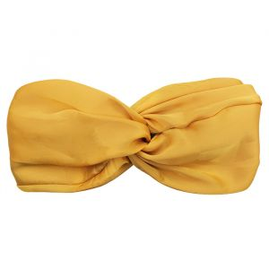Satin Headband - Ocher