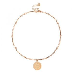 You Can Do It Bracelet - Silver/Gold/Rosé-Rose goud