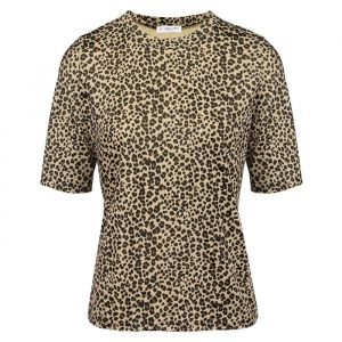 Leopard shirt bruin zwart, T-shirt