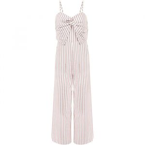 Striped Jumpsuit - Pink