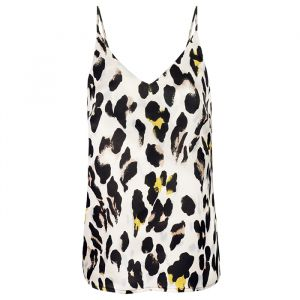 Leopard Top - Off White