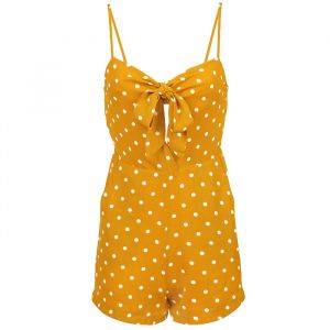 Playsuit Dots - Yellow