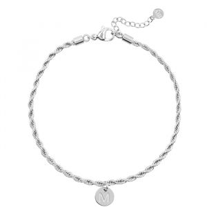 Armband initiaal zilver My Jewellery