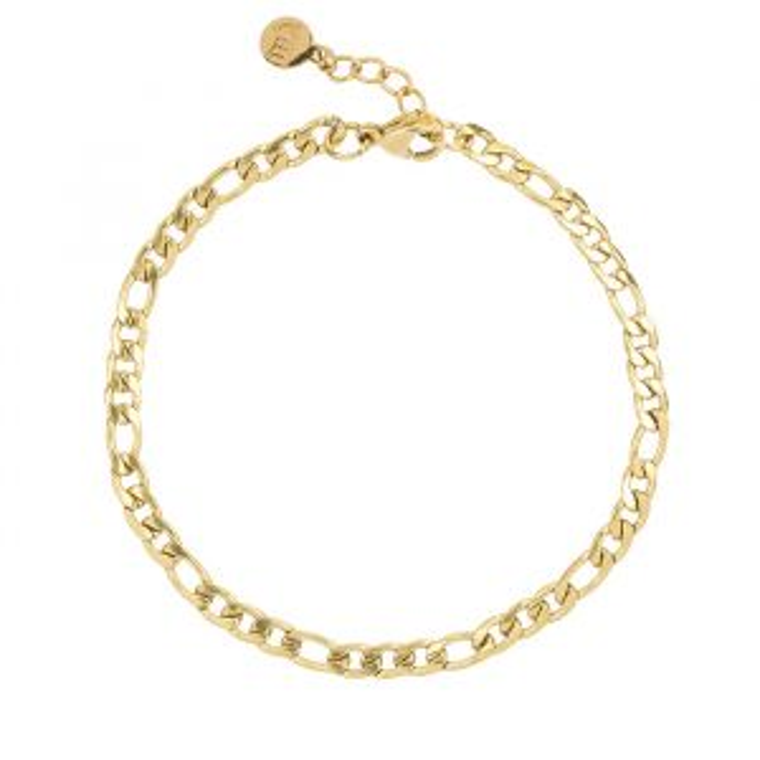 Gouden schakelarmband My Jewellery