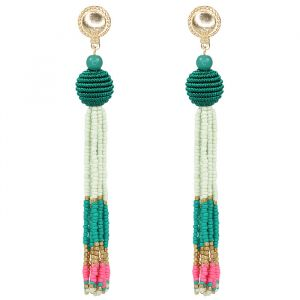 Beads & Drop Earrings