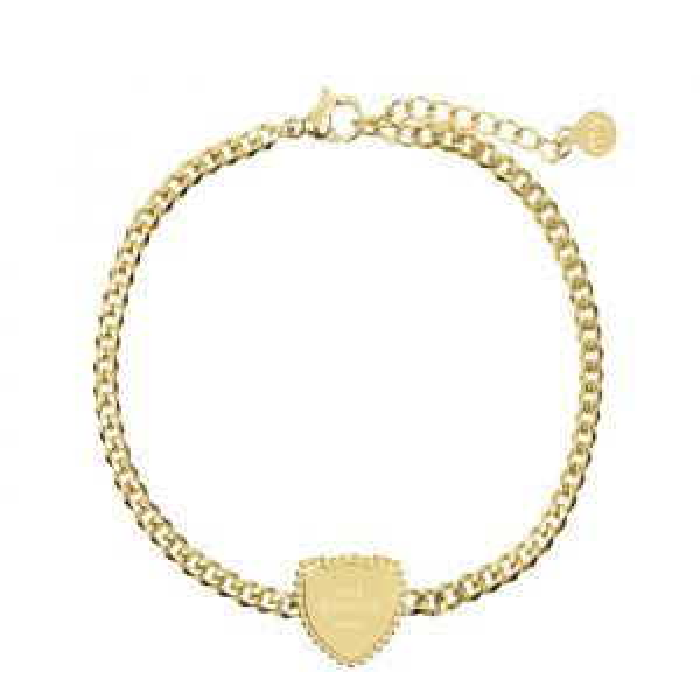 Armband Bedel Mi Amore-Goud