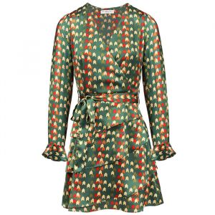Groene jurk met pijltjes My Jewellery