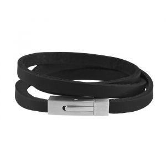 Mr. Jewellery Wrapped Bracelet - Black