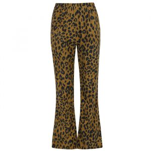 Brown Leopard Pants