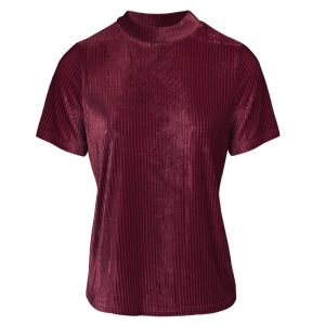 Velvet top bordeaux My Jewellery