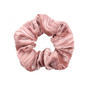 Velvet srunchie roze My Jewellery
