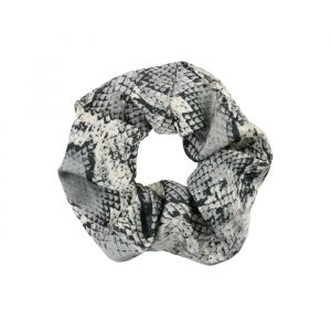 Slangenprint scrunchie, Haarelastiekjes My Jewellery