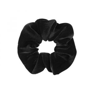 Zwarte velvet scrunchie My Jewellery