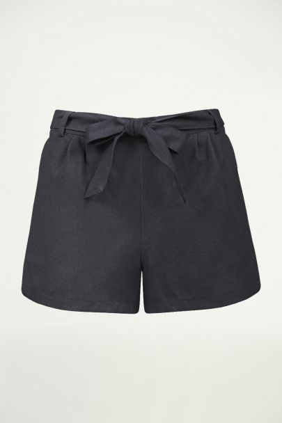 Antraciet short casual, casual short