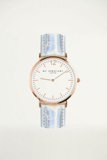 Horloge holographic rose, Horloges