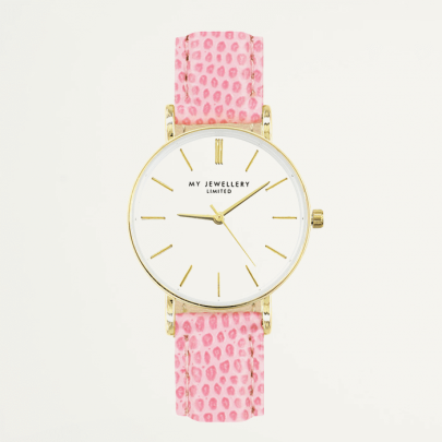 Small Vintage Watch - Light Pink