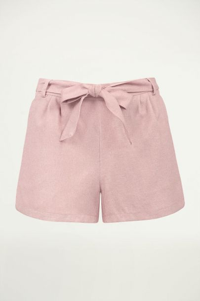 Roze short casual, roze short