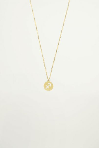 Sterrenbeeld ketting, zodiac sign