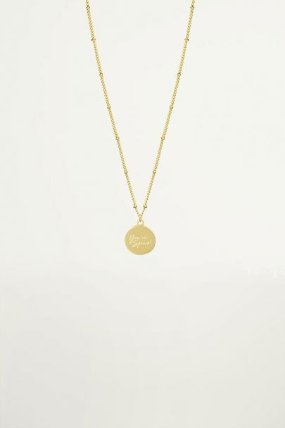 You're Special Necklace, minimalistische ketting