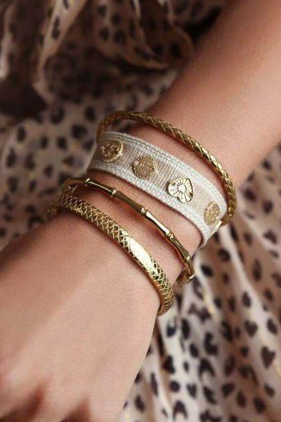 Bangle met schubben