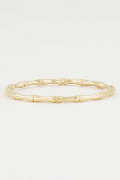Bangle bamboe, bamboe slavenarmband