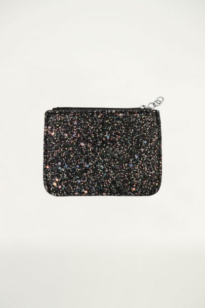 Multicolor Small Glitter Wallet
