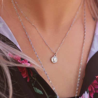 Ketting munt & camee