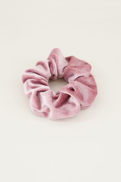 Roze velvet scrunchie | Roze scrunchie My Jewellery